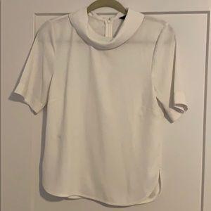 Ann Taylor Peter Pan collar blouse